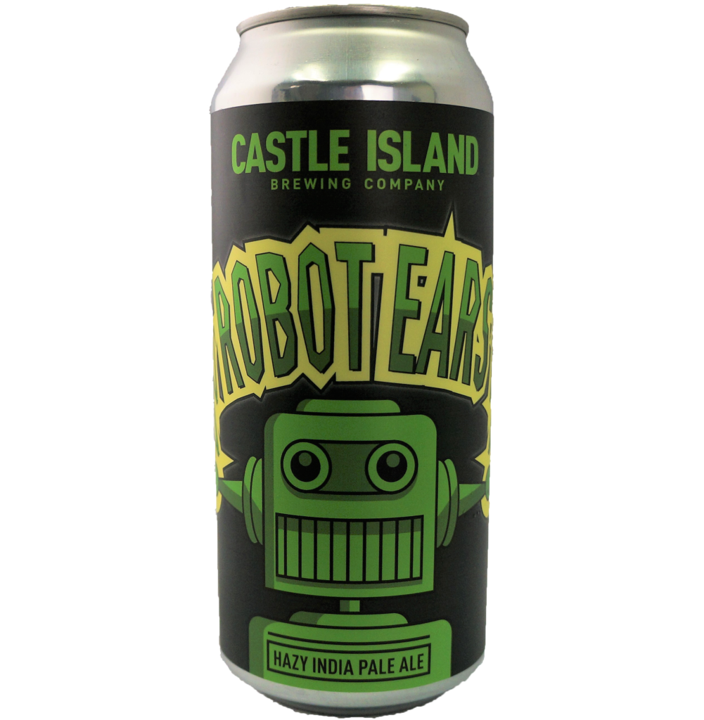Robot Ears Hazy India Pale Ale can