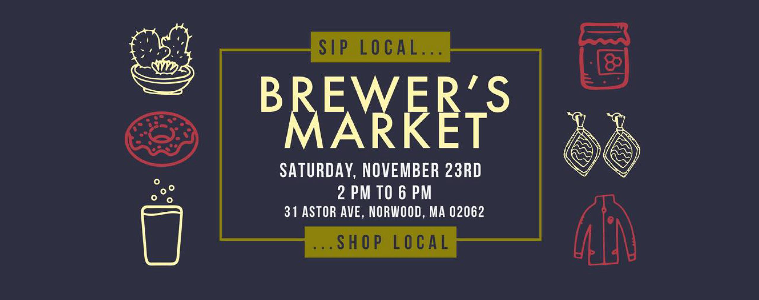 Brewer's Market banner