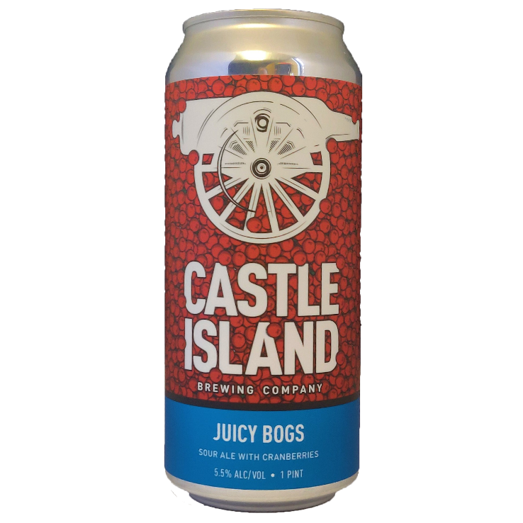 Juicy Bogs sour ale with cranberry can